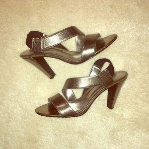 Silver Calvin Klein Sandals